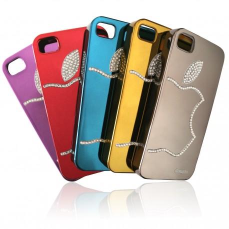 iPhone 4 / 4S Skal Bling Apple + Skärmskydd