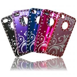 iPhone 4 / 4S Skal Bling Klassisk Romantik + Skärmskydd