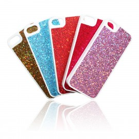 iPhone 5 / 5S Skal Glitter Vit