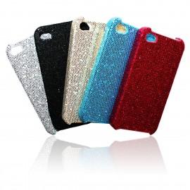 iPhone 4 / 4S Skal Glitter + Skärmskydd