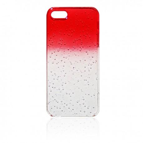 iPhone 5 Skal Regndroppar: Röd