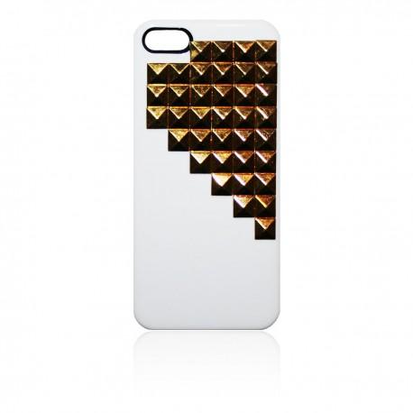 iPhone 5 TPU Skal Rock: Vit