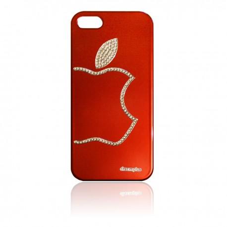 iPhone 5 Skal Bling Apple: Röd