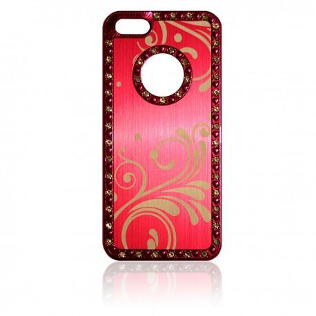 iPhone 5 Skal Bling Romantik: Rosa