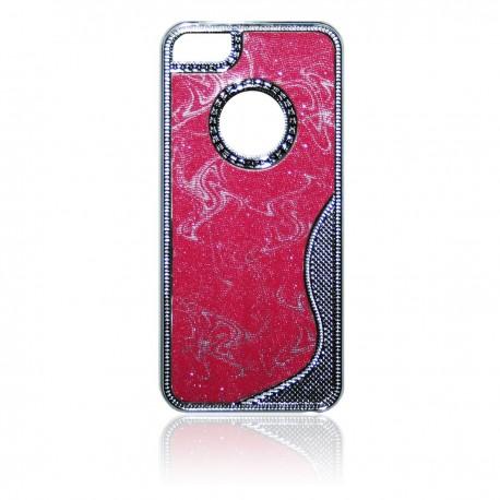 iPhone 5 Skal Glitter Psykadelisk: Rosa