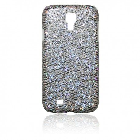 Samsung Galaxy S4 Skal Glitter: Silver