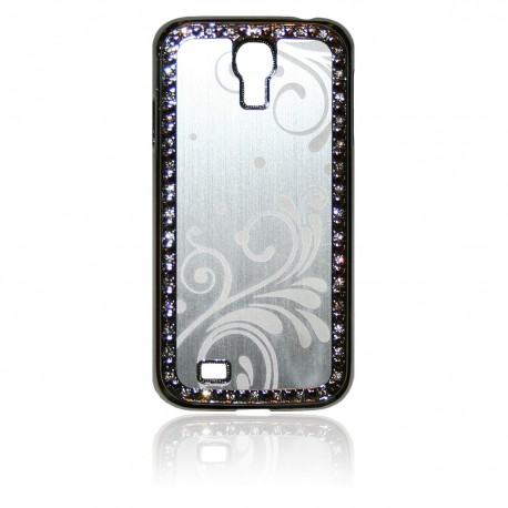 Samsung Galaxy S4 Skal Bling Romantik: Silver