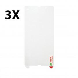 Sony Xperia Z 3-pack Skärmskydd