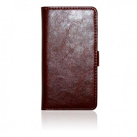 Sony Xperia Z Läderplånbok: Brun