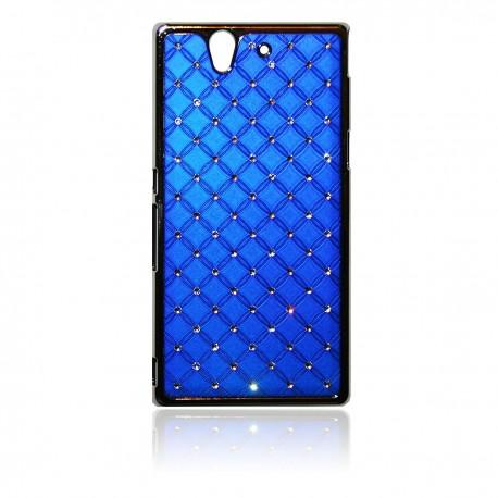Sony Xperia Z Bling Diamanter: Blå
